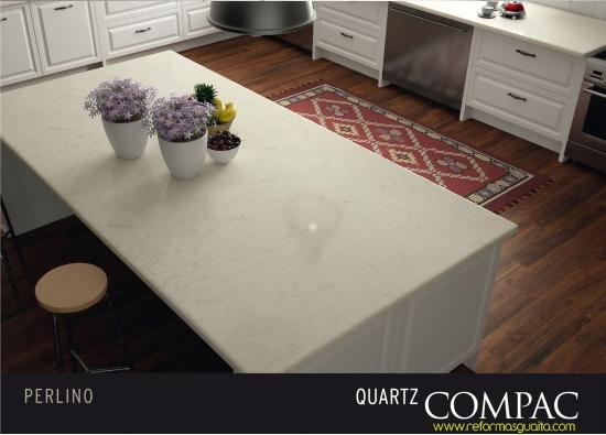Compac presenta nature encimeras que cuidan del for Cocina color marmol beige